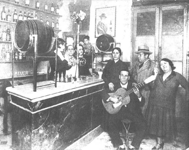 Local flamenco en Barcelona (Nuevo Mundo, 2-9-1932)
